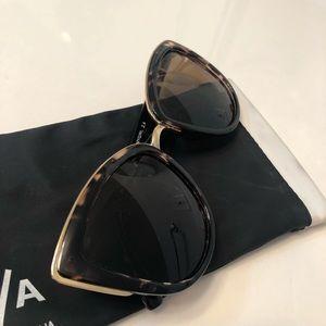Quay Australia Accessories - Quay My Girl Sunglasses In Tortoise